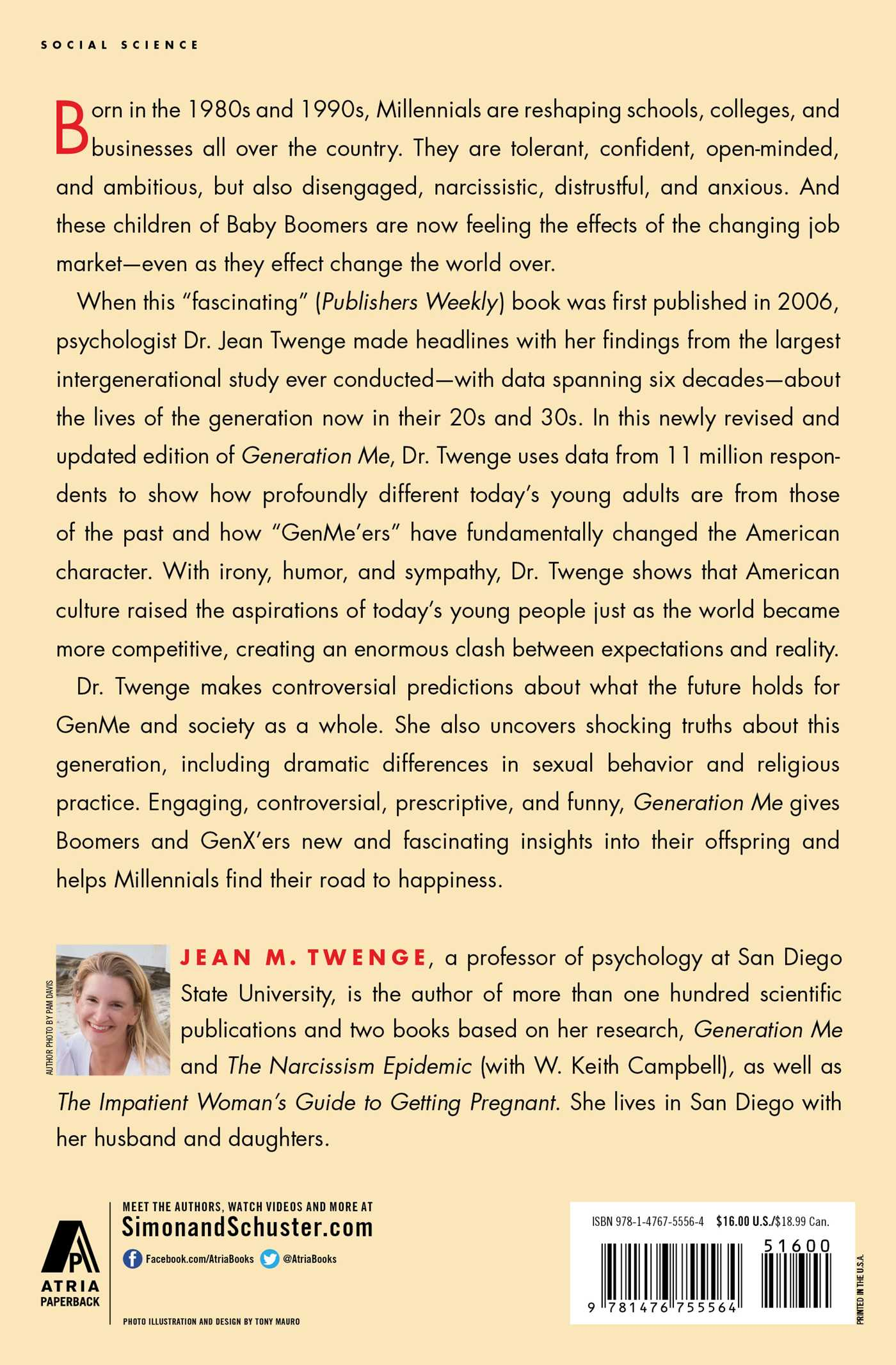 Generation Me Revised And Updated Book By Jean M Twenge