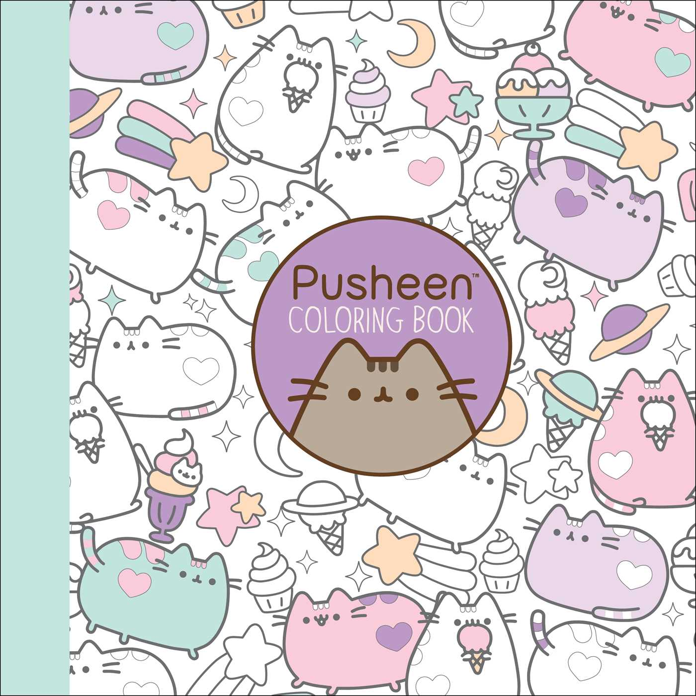 Image result for pusheen coloring book