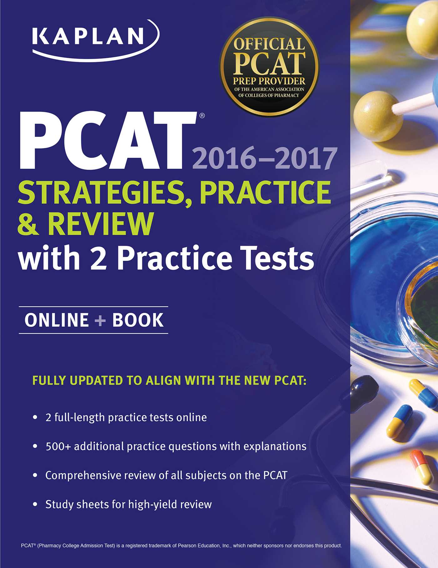 Kaplan Pcat Strategies Practice And Review With 2 Practice Tests Ebook By Kaplan