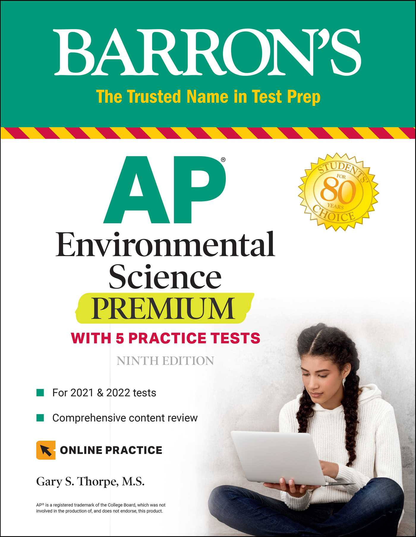 Ap Environmental Science Premium Ebook By Gary S Thorpe M