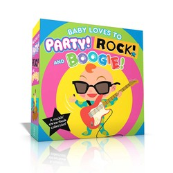 Baby Loves To Party! Rock! And Boogie! Book By Wednesday Kirwan