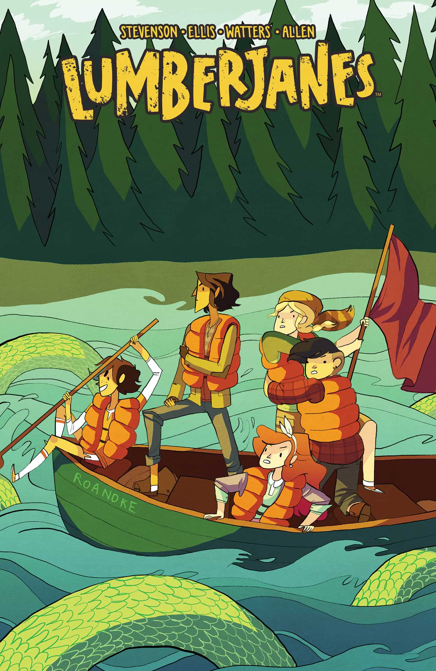 Image result for lumberjanes series