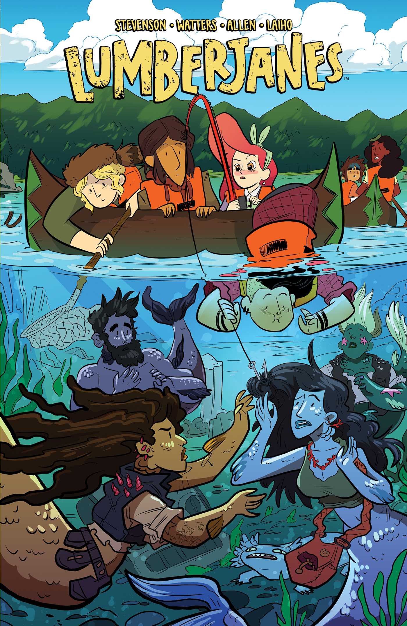 Image result for lumberjanes vol 5
