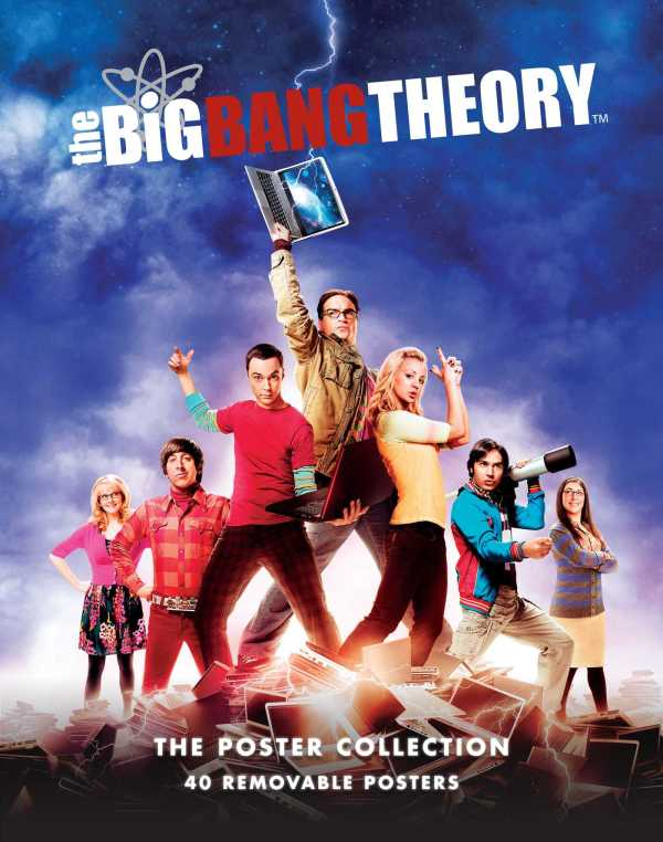 Big Bang Theory Poster Collection Book Insight Editions Official Publisher Page