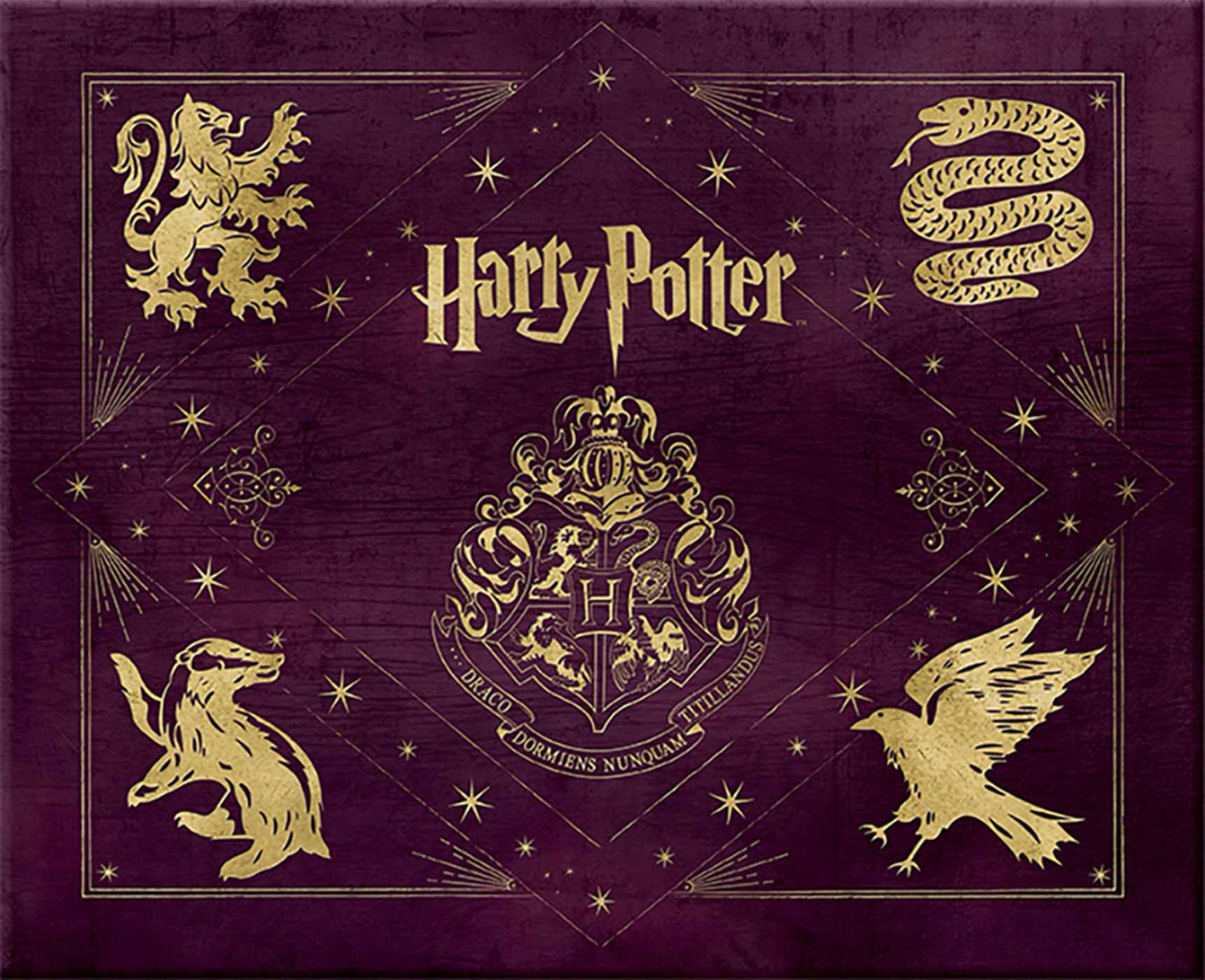 Harry Potter Hogwarts Deluxe Stationery Set  Book by