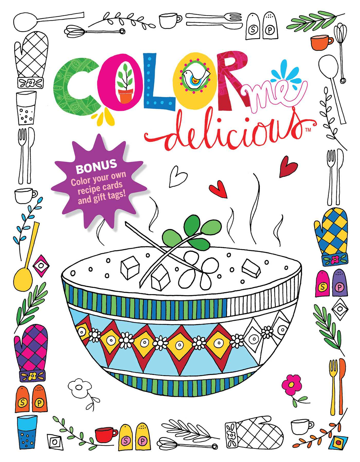 hight resolution of color me delicious adult coloring book