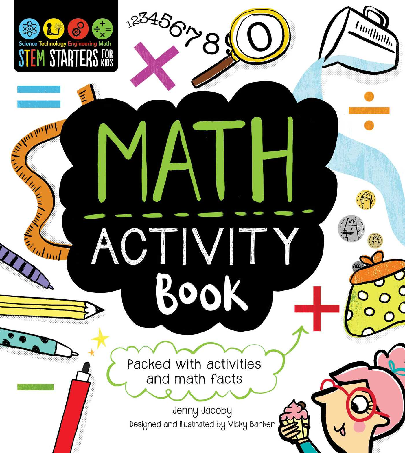 Stem Starters For Kids Math Activity Book