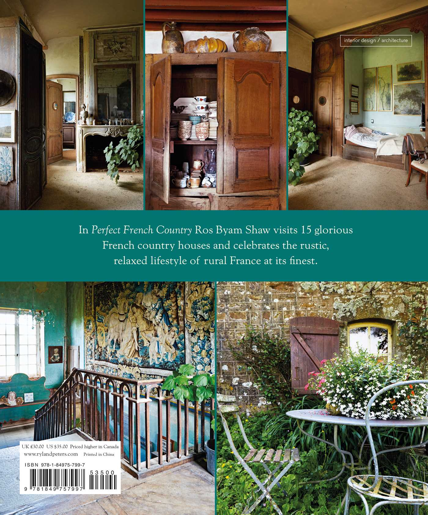 Perfect French Country  Book By Ros Byam Shaw Official