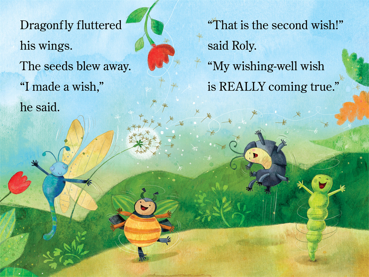 Inch And Roly Make A Wish Book By Melissa Wiley Ag Jatkowska