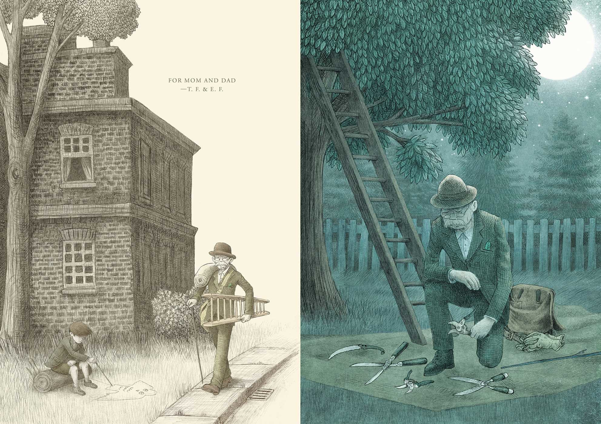 The Night Gardener  Book by Terry Fan Eric Fan