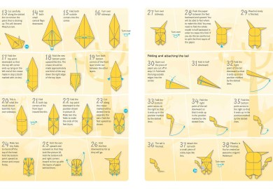 Easy Pokemon Origami Instructions