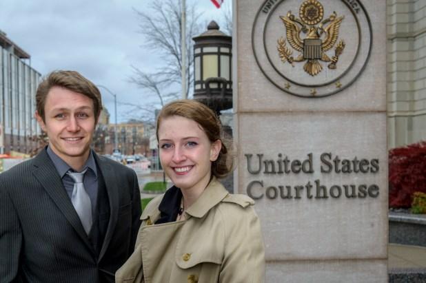 Paul Gerlich and Erin Furleigh