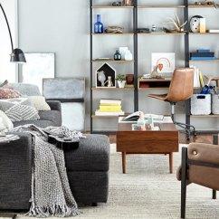 Living Room Office Modern Sectional Sets Home Inspiration West Elm Multitasking Family