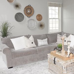 jive chenille living room furniture collection rocking chair ideas for kipling 4 pc sectional sofa weston gull espresso we made it to friday doesn t quite how i