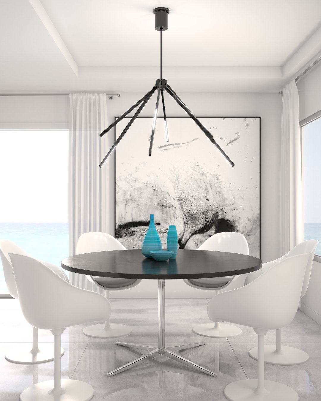 modern chandelier for your dining room