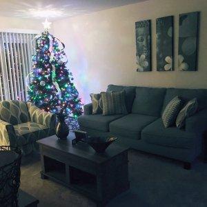 aqua sofa ebay set uk willoughby raymour flanigan christmas