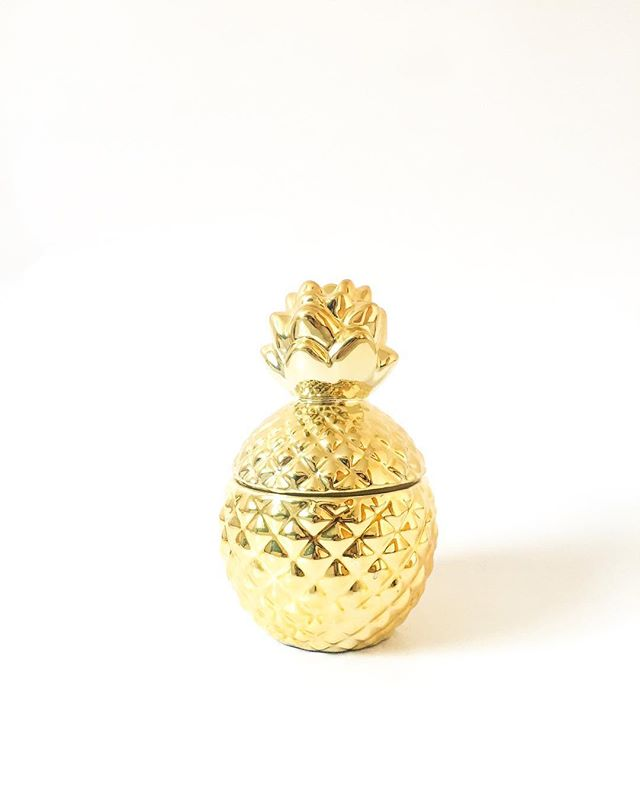 Pineapple Candle Gold - West Emory® - Target Finds