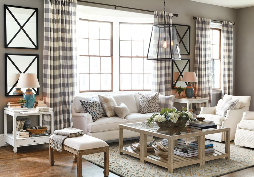 small living room with sofa and 2 chairs on sale 15 ways to layout your how decorate shop lancaster mirror eldridge pendant eton upholstered thomas bunching table larkin swivel glider clara bench sophie side