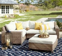 Clean Outdoor Furniture - Pottery Barn