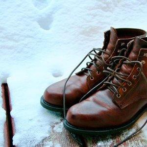 men kilometer boot vintage