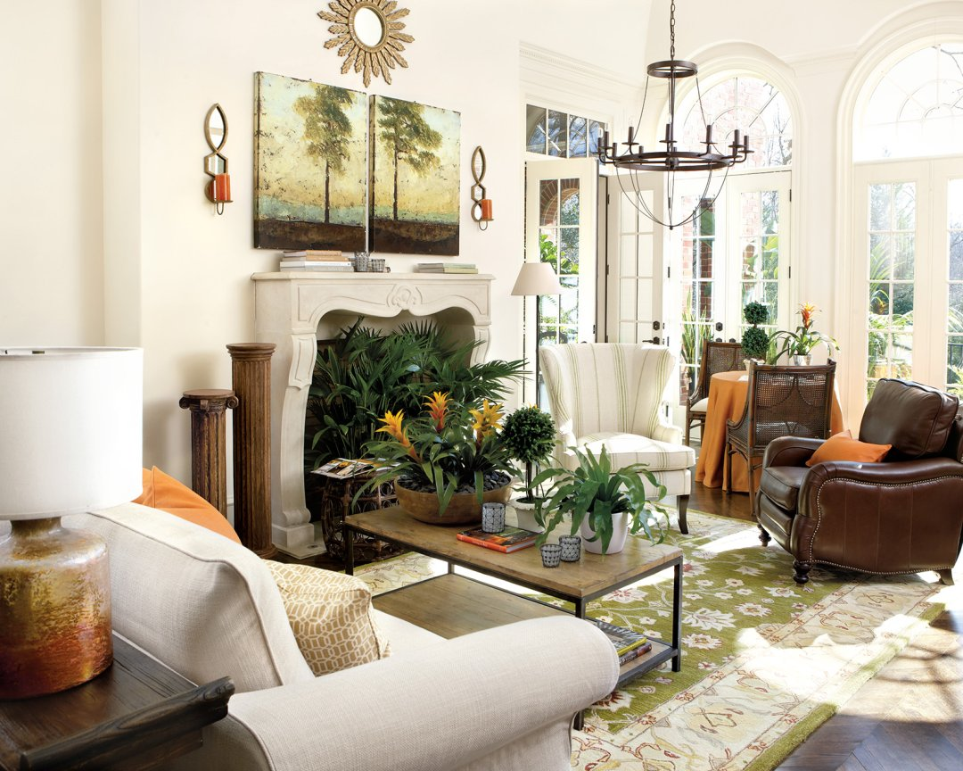 how to make mismatched living room furniture work stone floors for rooms 15 ways layout your decorate shop elise candle sconce lourdes 12 light chandelier lauren rug durham rectangular coffee table and more