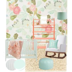 Baby Girl Chair Where To Buy Covers In Canada Mint Nursery Inspiration For Crate Kids Blog