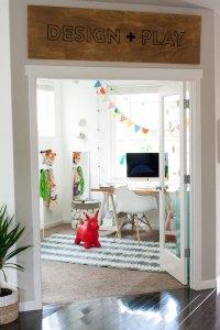 Office Playroom Ideas | Honest to Nod