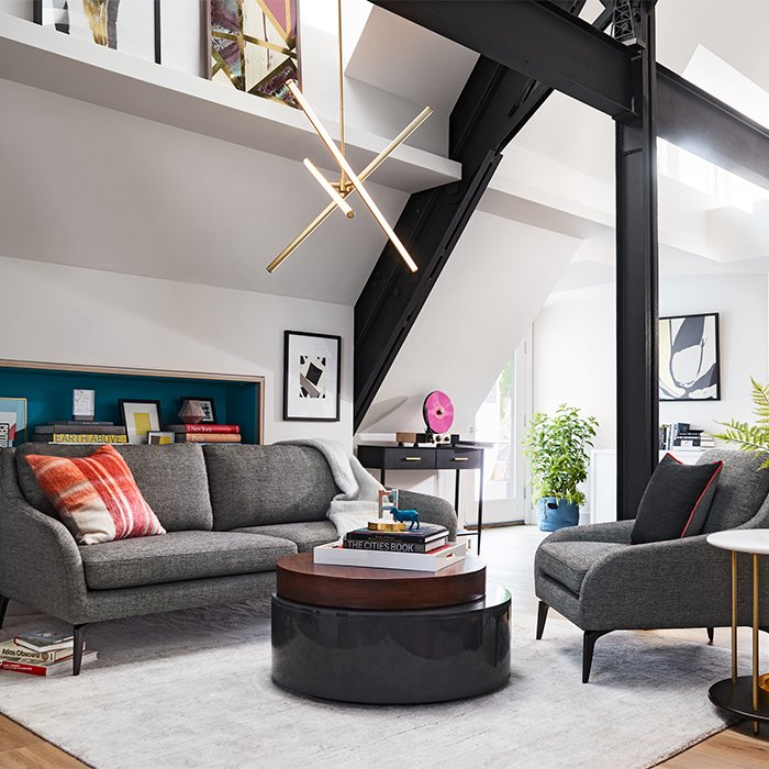 west elm living rooms gray and yellow room decorating ideas inspiration tailored modern
