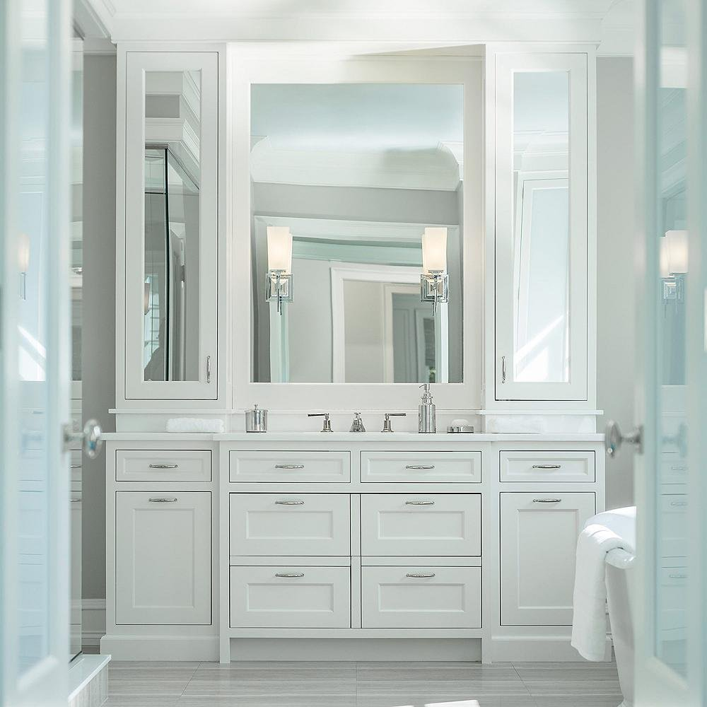 Vanity Lighting Buyer S Guide How To Choose The Right Vanity Lights At Lumens Com