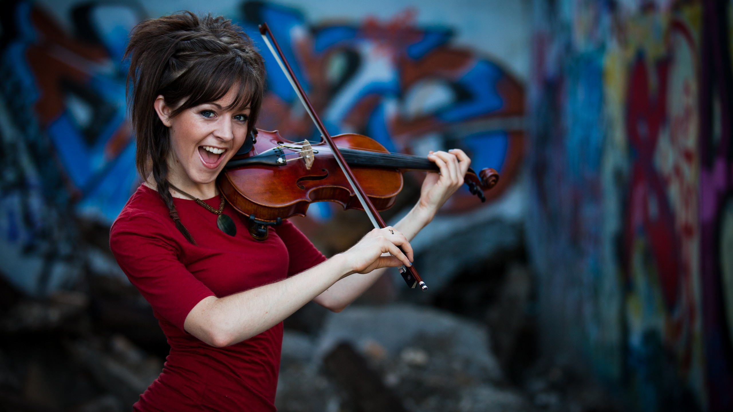 Lindsey Stirling Dub Step Violinist Wallpaper Lindsey