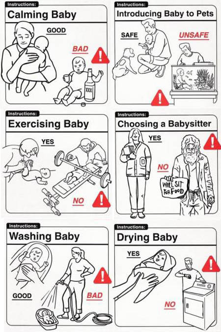 Baby Do's and Dont's Instructions 2