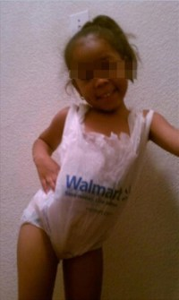 Walmart Baby Clothes from Plastic Bags - Walmart - Faxo