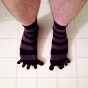 toe socks toes fingers
