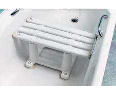 nrs tabouret pour baignoire medeci a largeur reglable et 20 cm de hauteur