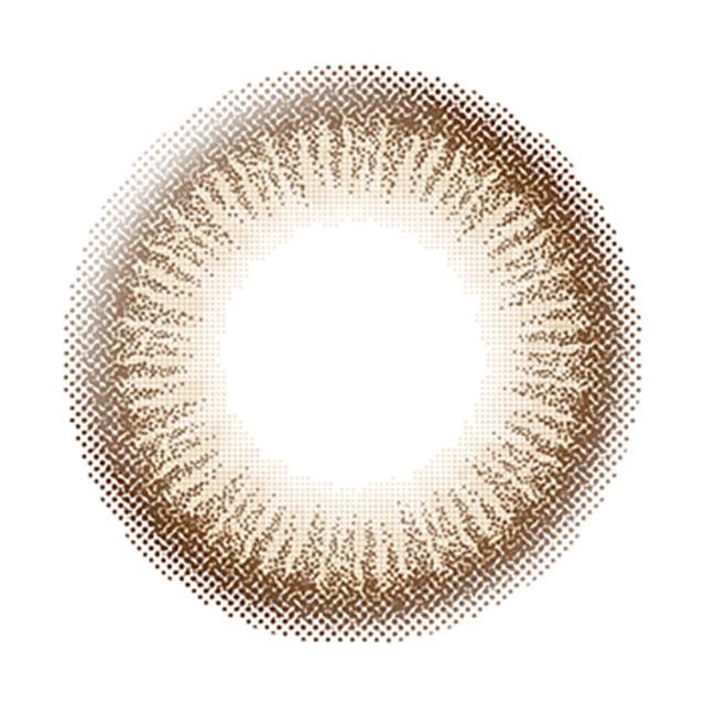 エバーカラーワンデーナチュラル ナチュラルモカ レンズ画像