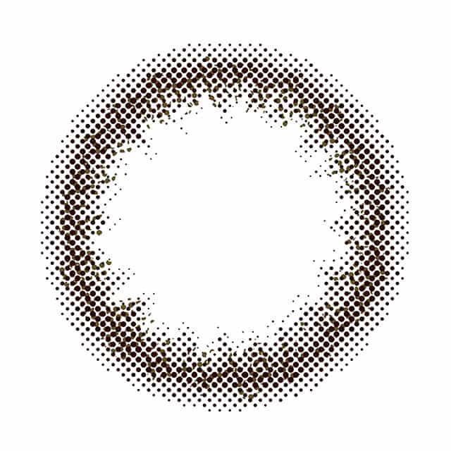 モテコン メイクアップ 2week レンズ画像