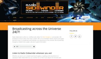 radiosidewinder com observe radio