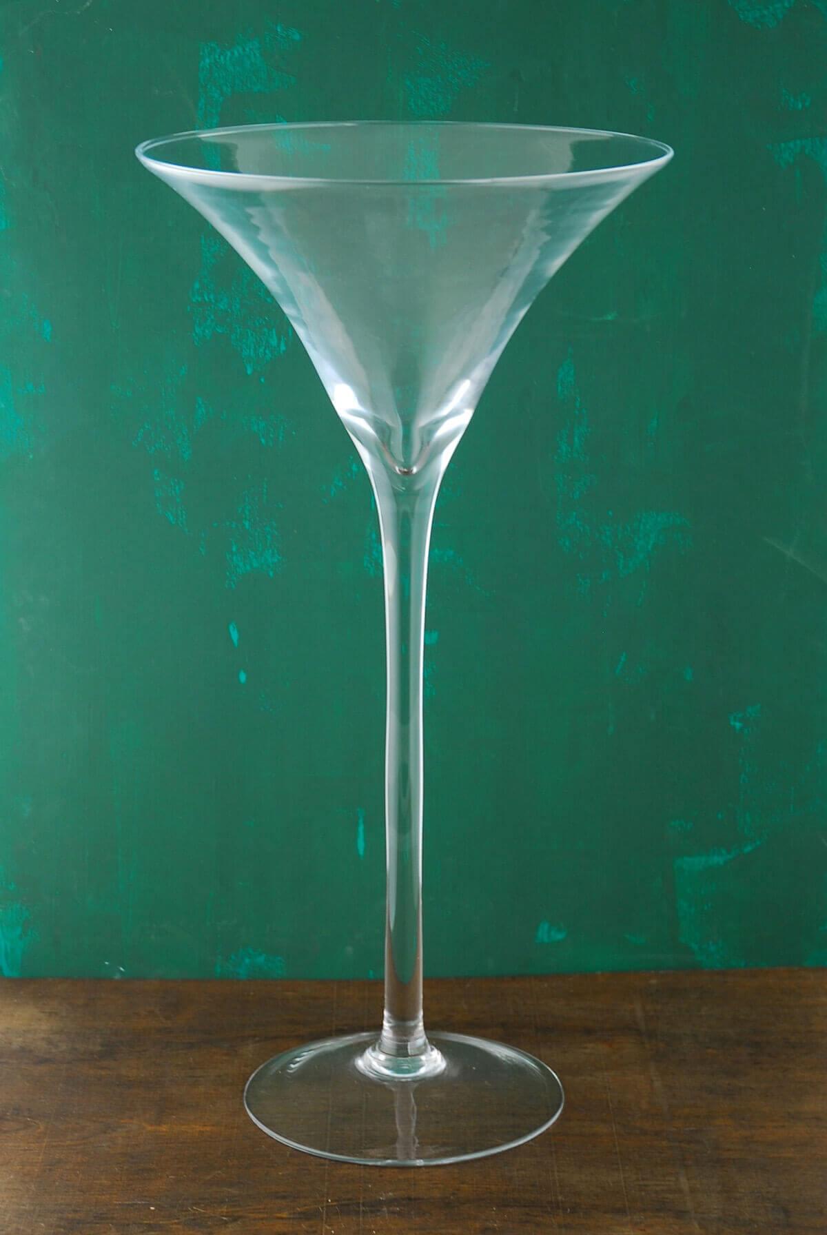 20 Tall Glass Martini Glass Vase