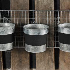 Kitchen Pot Holders Trending Appliances Triple Bucket Planter Rack