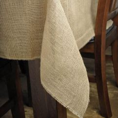 Burlap Chair Sashes Modloft Dining Square Tablecloth 64 Inch