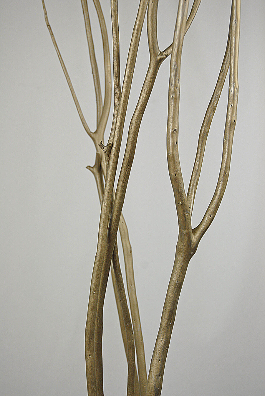 artificial trees for living room good paint colors a small mitsumata branches silver 50in | 3