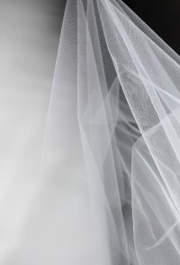 """Tulle Bridal Illusion White 108"""" wide x 50 yds (.99 /yard)"""