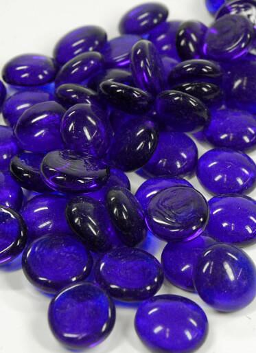 Large Lot Vase Gems Cobalt Blue 96018lbs