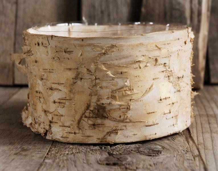 Birch Bark Planter Pot 65x 35 Inch