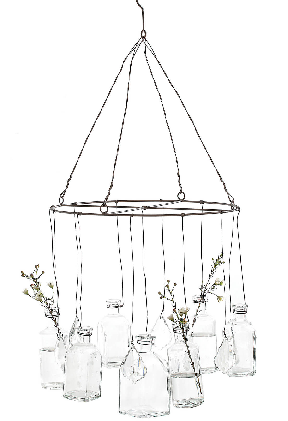 Glass Vase Chandelier