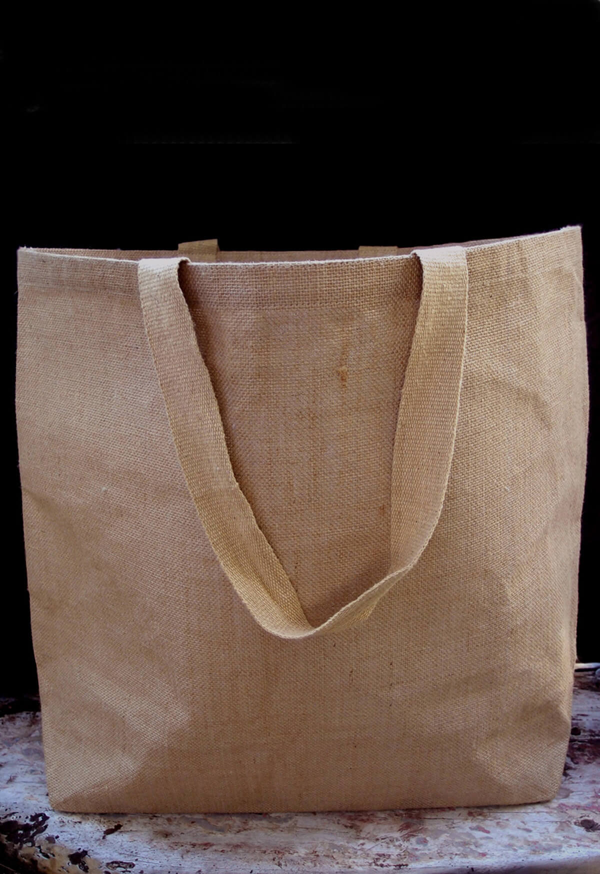Large 20 Burlap Tote Bags with Handles