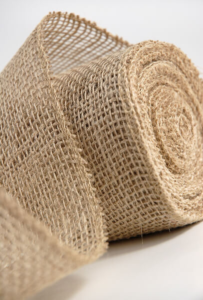 Fabric And Burlap Table Runners