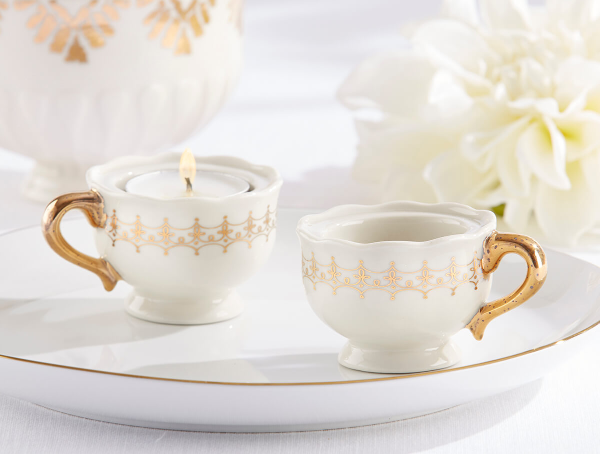 Candle Holder Teacups
