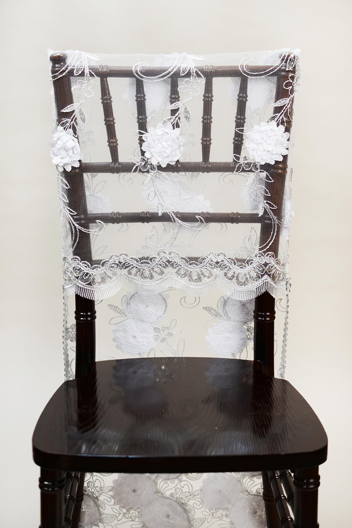 chiavari chair covers for weddings leather and fabric dining chairs white floral