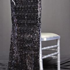 Natural Chiavari Chairs Folding Table And For Kids Chair Covers -black Sequins